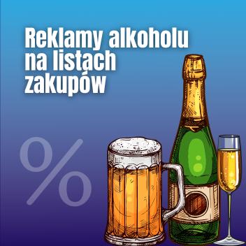 Promocja alkoholu nalistach zakupów